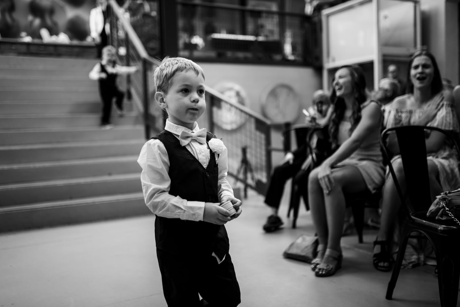 cute ringbearer, chicago wedding photographer