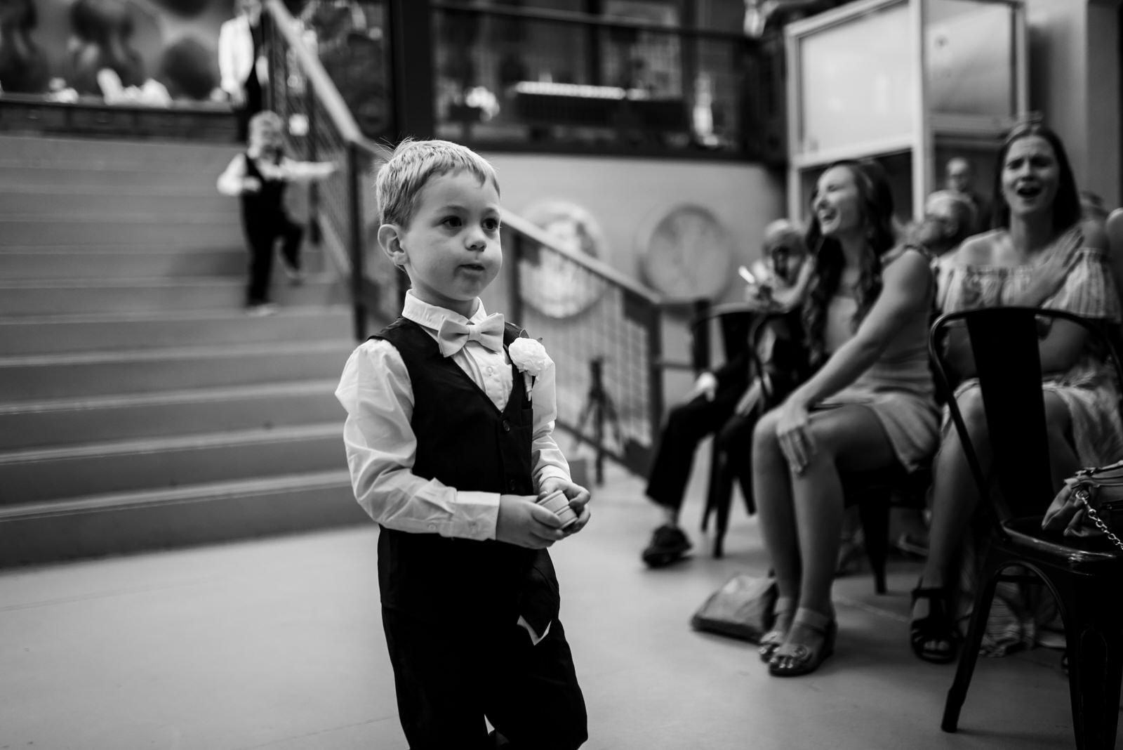 cute ringbearer, chicago wedding photographer