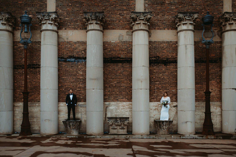 Chicago vow renewal, Architectural artifacts, artifacts events wedding, The Adamkovi