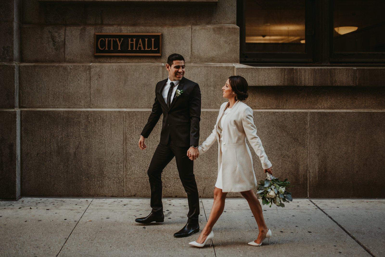 Chicago Elopement wedding photo, wedding photographer, the Adamkovi