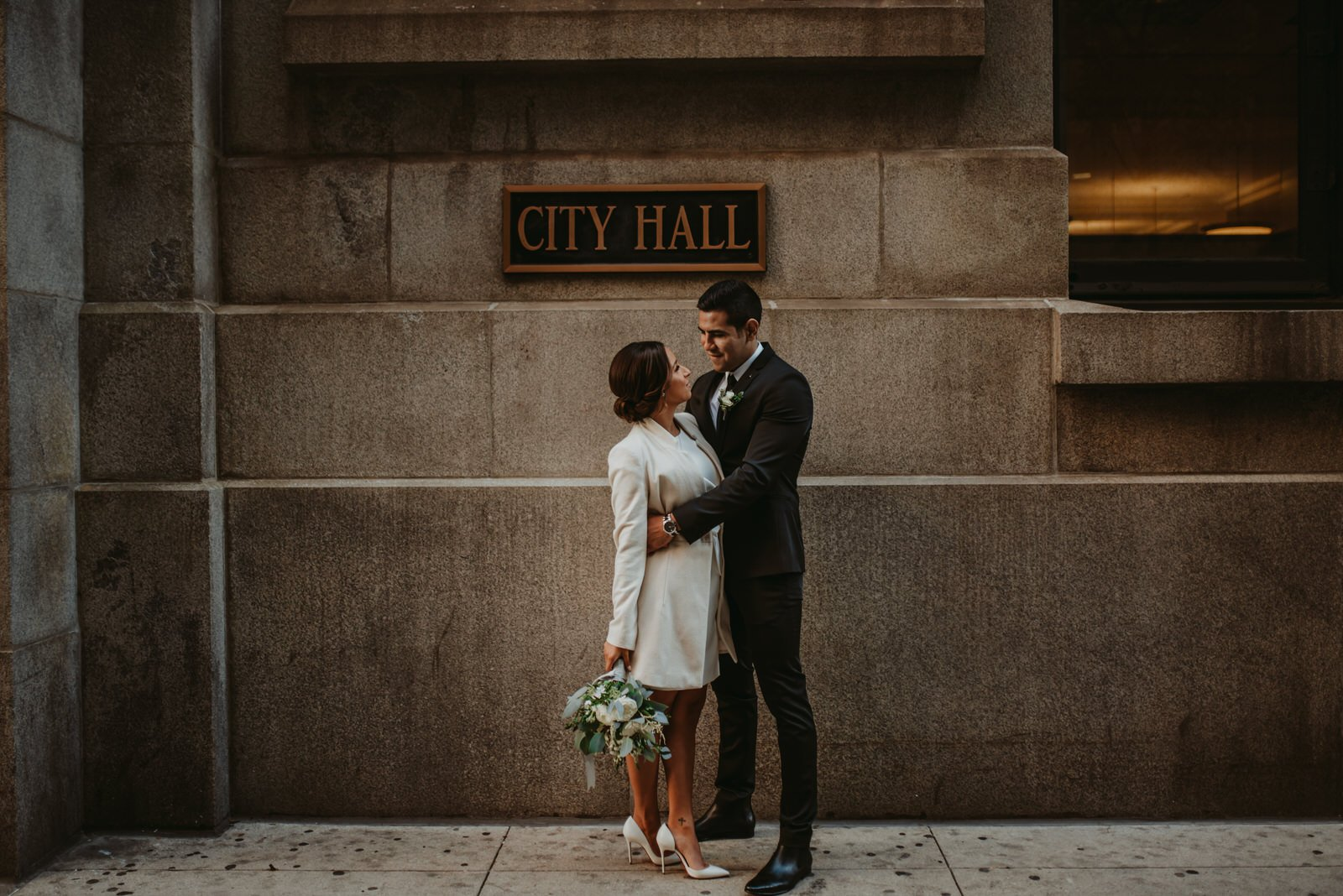 Chicago City Hall wedding, wedding photographer, the Adamkovi
