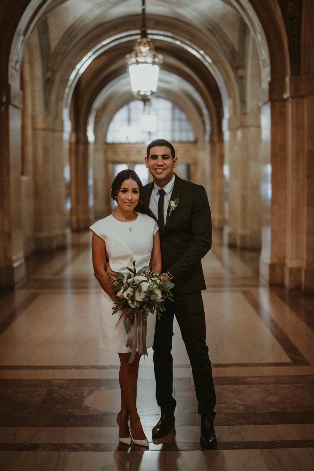 Chicago city hall wedding, elopement, wedding photographer - the Adamkovi
