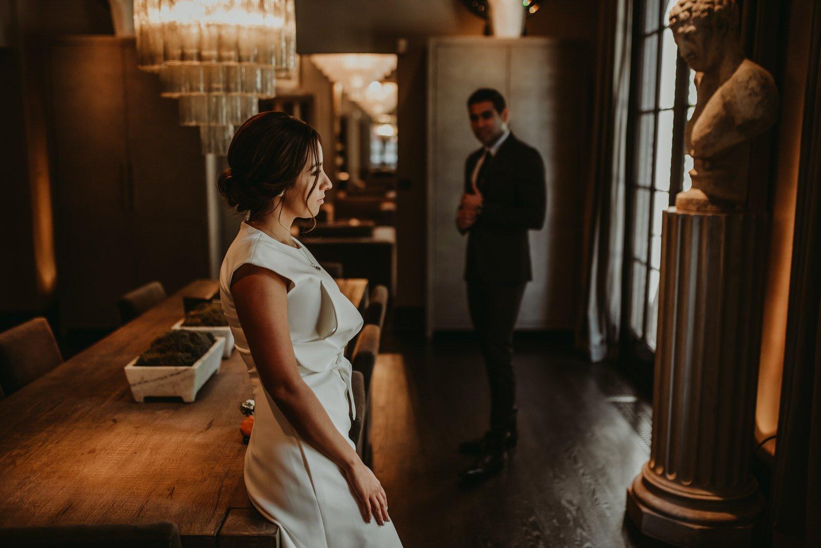 3 arts cafe Chicago wedding elopement photography the Adamkovi