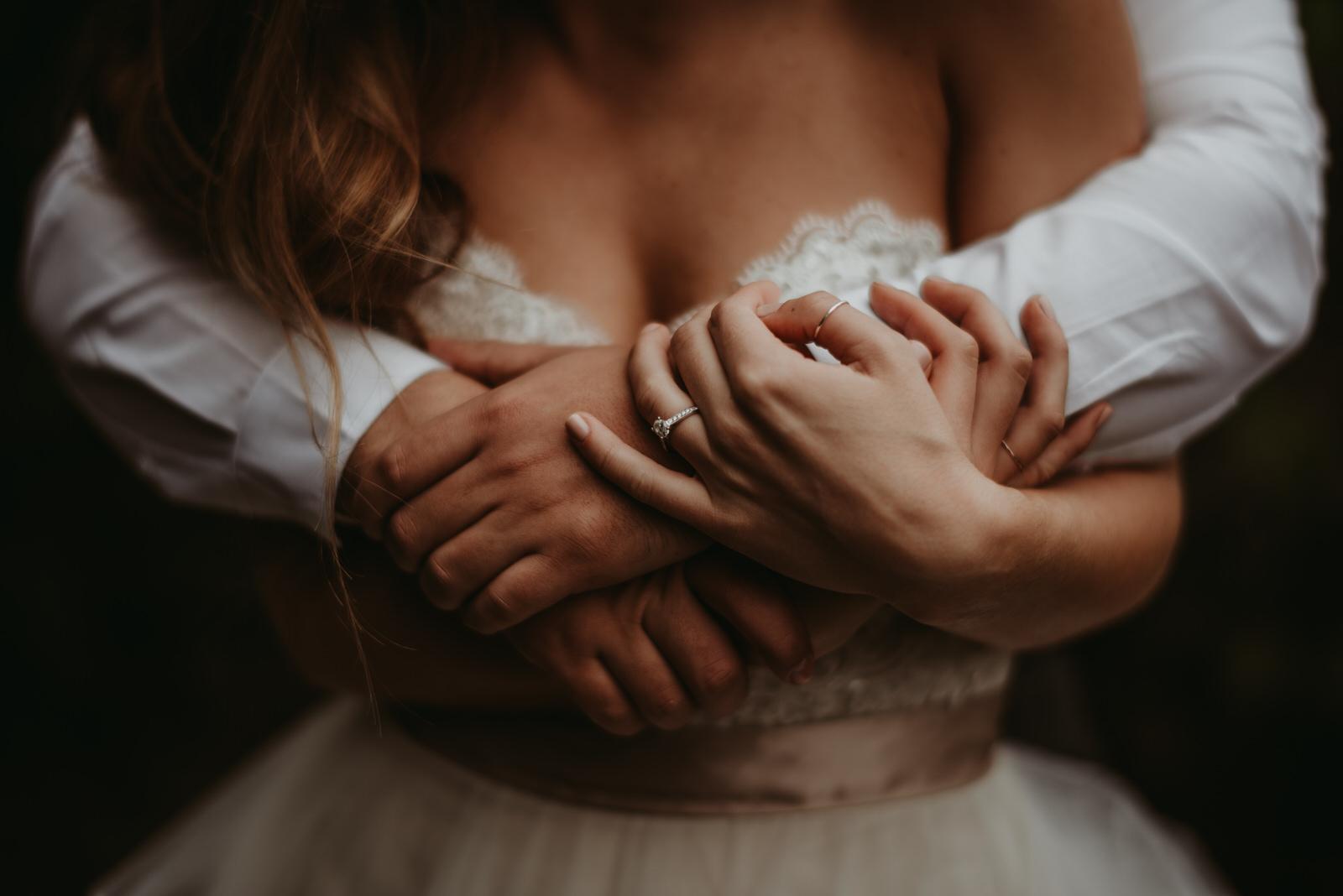 love, BHLDN, moody photography, Chicago wedding photography - The Adamkovi