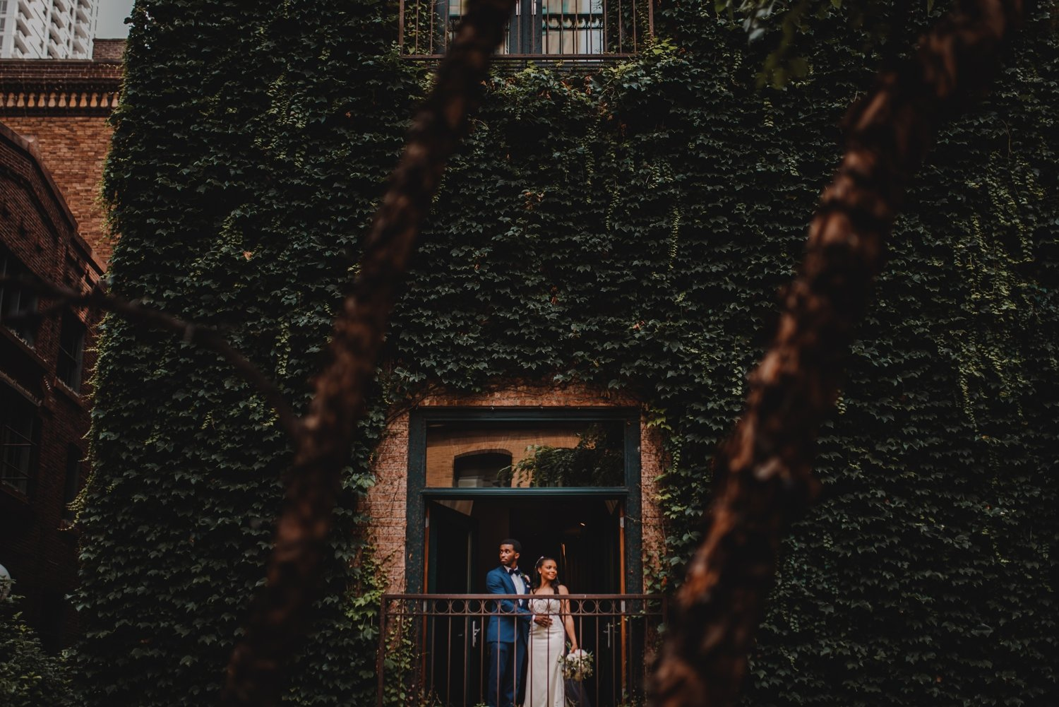 The Ivy Room Chicago Wedding photographer