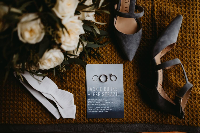 photo of rings - the Adamkovi - Chicago wedding photography