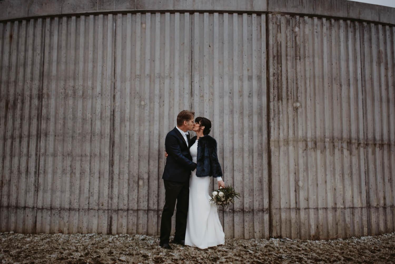 creative bride and groom photo The Adamkovi Chicago wedding photographer