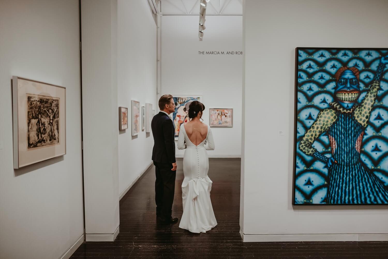 Elmhurst art Museum Wedding - The Adamkovi Chicago wedding photographer
