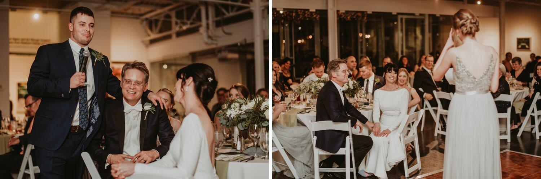 Reception - Elmhurst art Museum Wedding - The Adamkovi Chicago wedding photographer