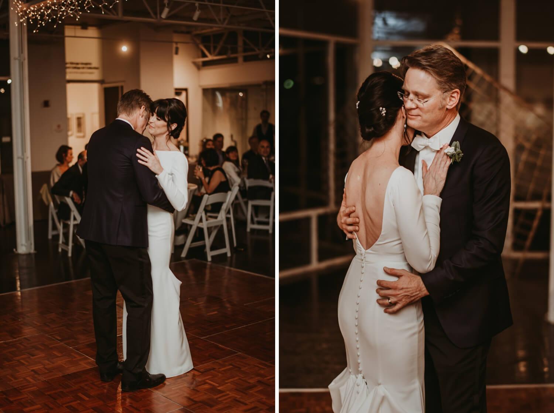 Reception - Elmhurst art Museum Wedding - The Adamkovi Chicago wedding photographer - first dance