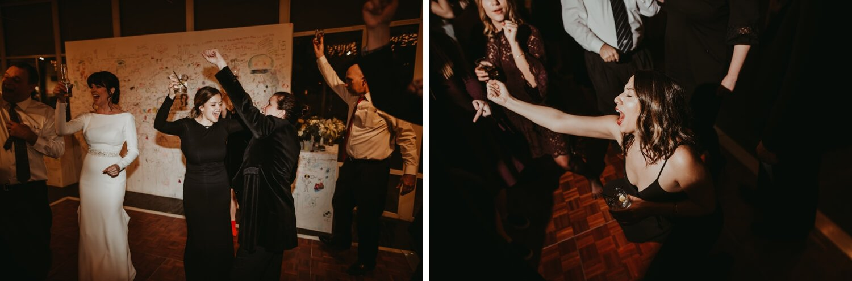 Reception - Elmhurst art Museum Wedding - The Adamkovi Chicago wedding photographer - dance party