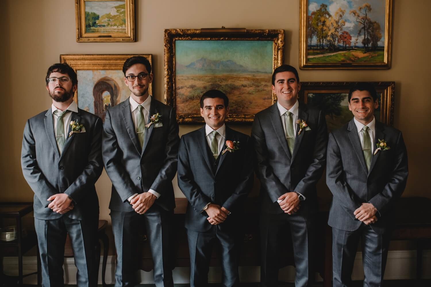 Groomsman photo, The Women's Club of Evanston Wedding Photographer - The Adamkovi, Chicago wedding Photographer