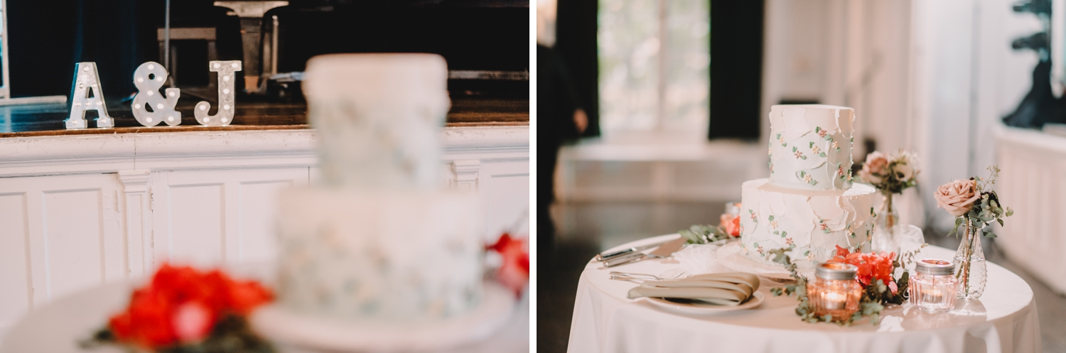 cake details, The Women's Club of Evanston Wedding Photographer - The Adamkovi, Chicago wedding Photographer