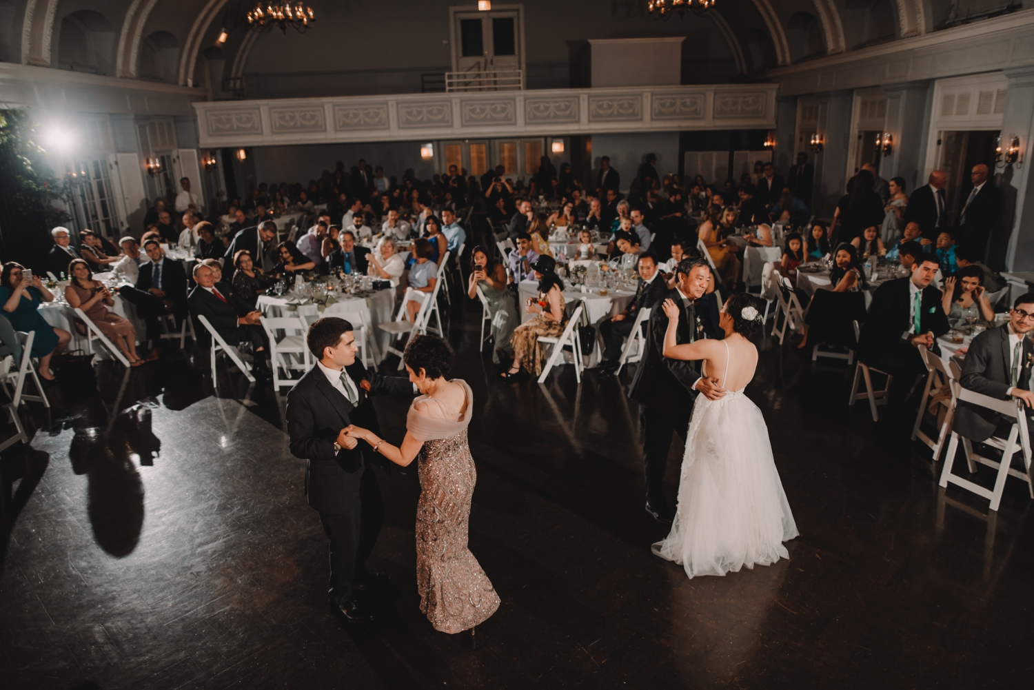 mather son, father daughter, first dance The Women's Club of Evanston Wedding Photographer - The Adamkovi, Chicago wedding Photographer