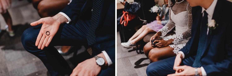Chicago City Hall Wedding Photographer - The Adamkovi, rings