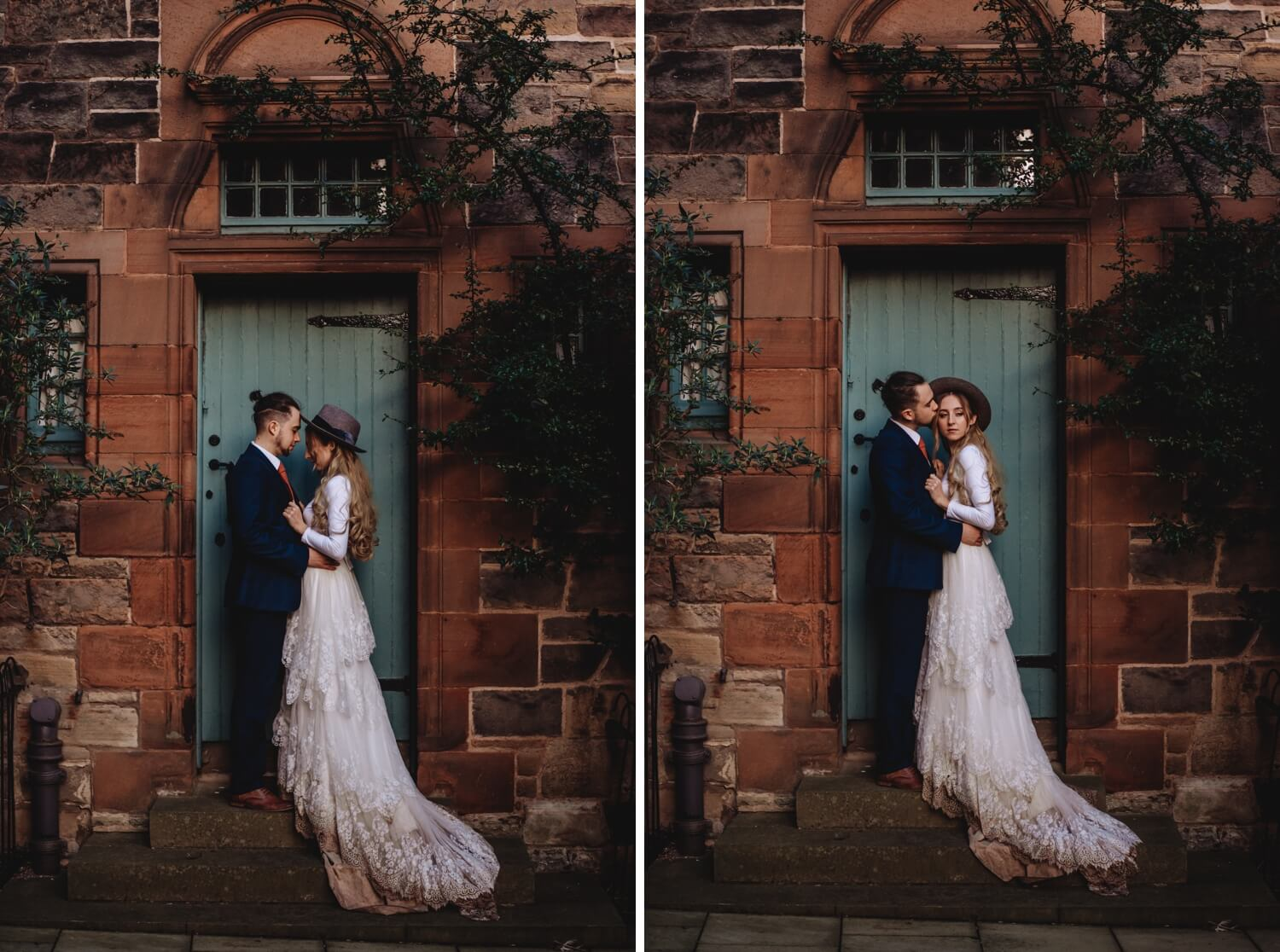 elopement, Bride and groom Wedding Photographer in Edinburgh - The Adamkovi