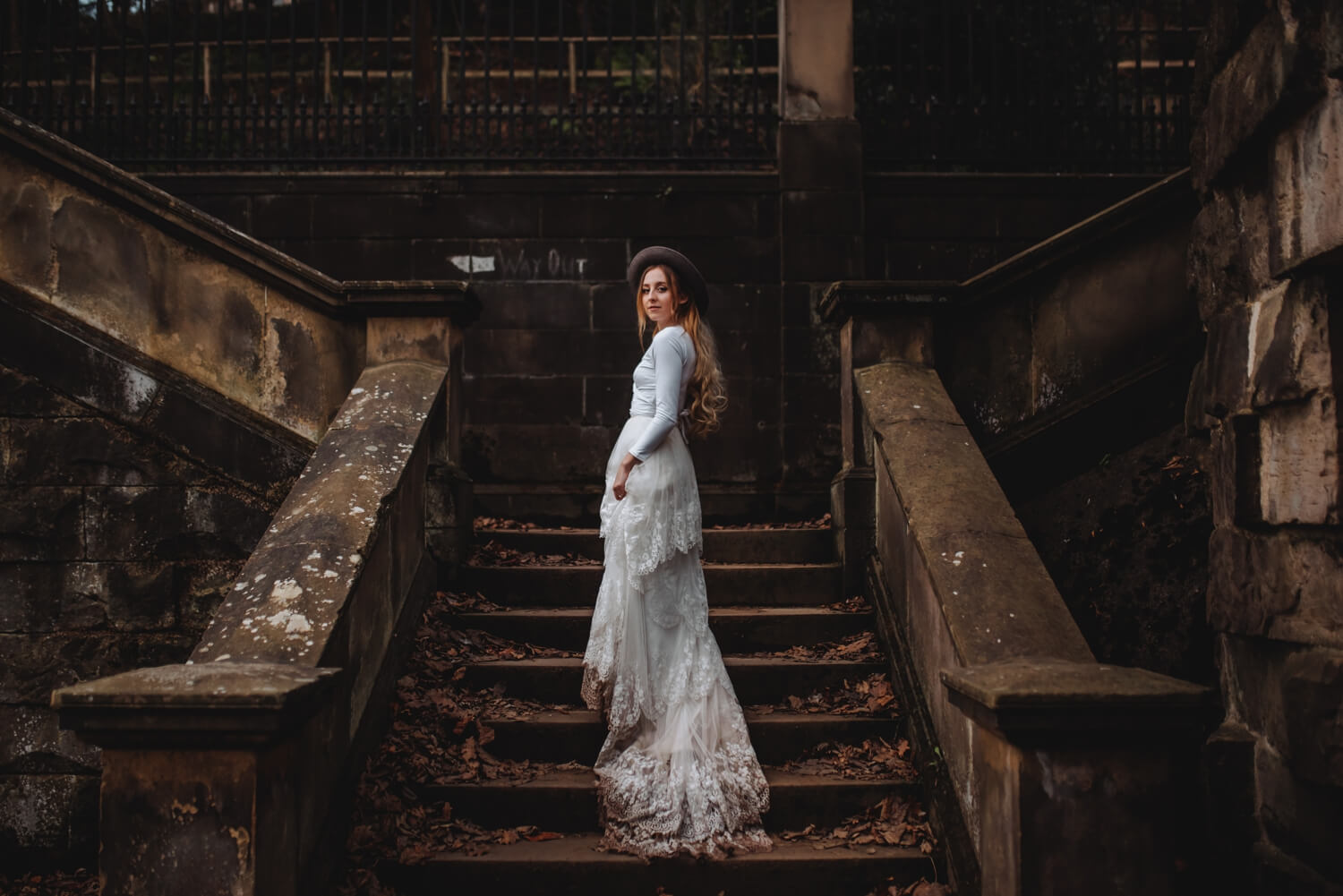 dean village, elopement, Bride and groom Wedding Photographer in Edinburgh - The Adamkovi