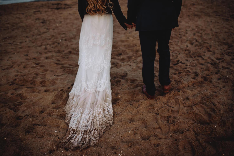 elopement, Bride and groom unique Wedding Photographer in Edinburgh - The Adamkovi