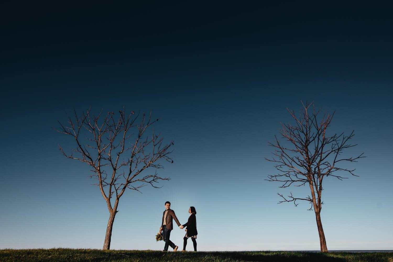 The Adamkovi Photography - creative Chicago proposal couple