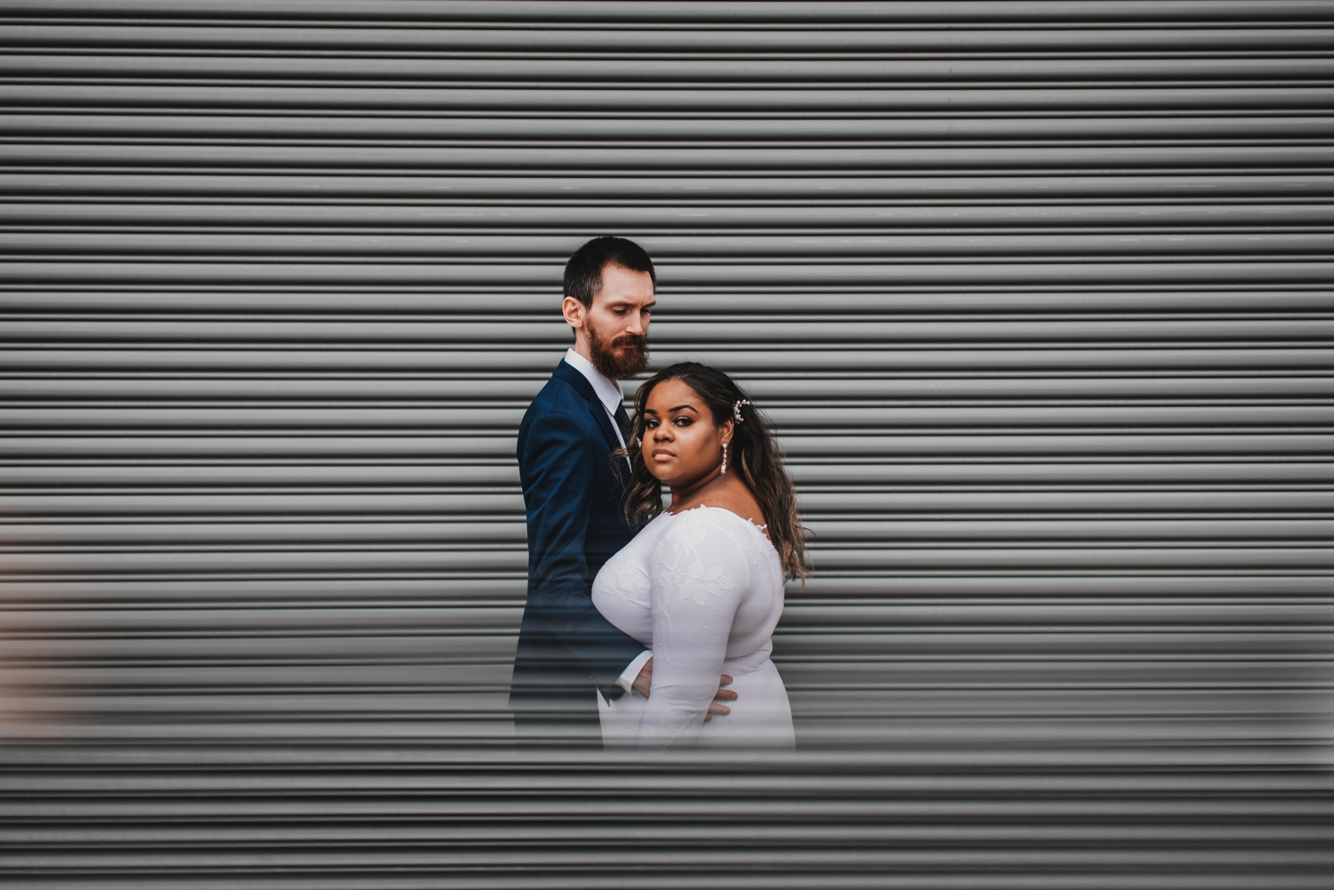 Chicago Elopement photographer - The Adamkovi, bride and groom magical photo
