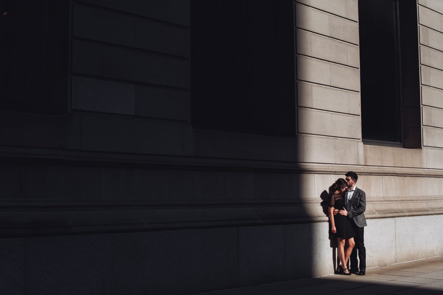 Art Institute Engagement Photofrapher
