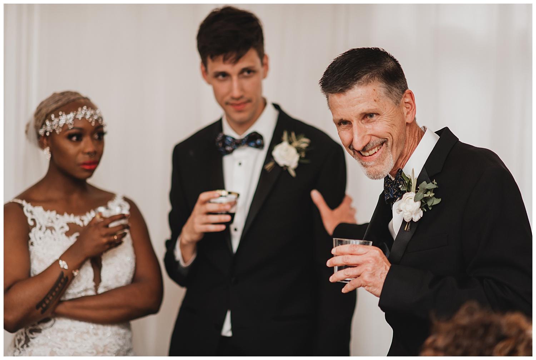 Keith House Chicago Wedding, The Adamkovi, speeches