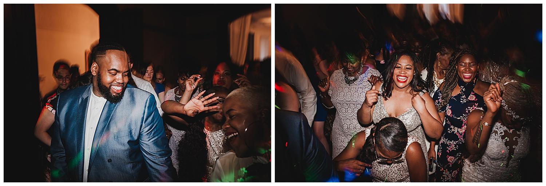 Keith House Chicago Wedding, The Adamkovi, dancing photos