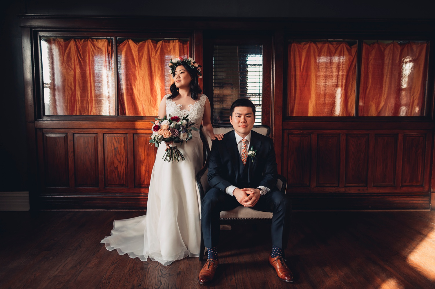 Firehouse Chicago Wedding - portraits