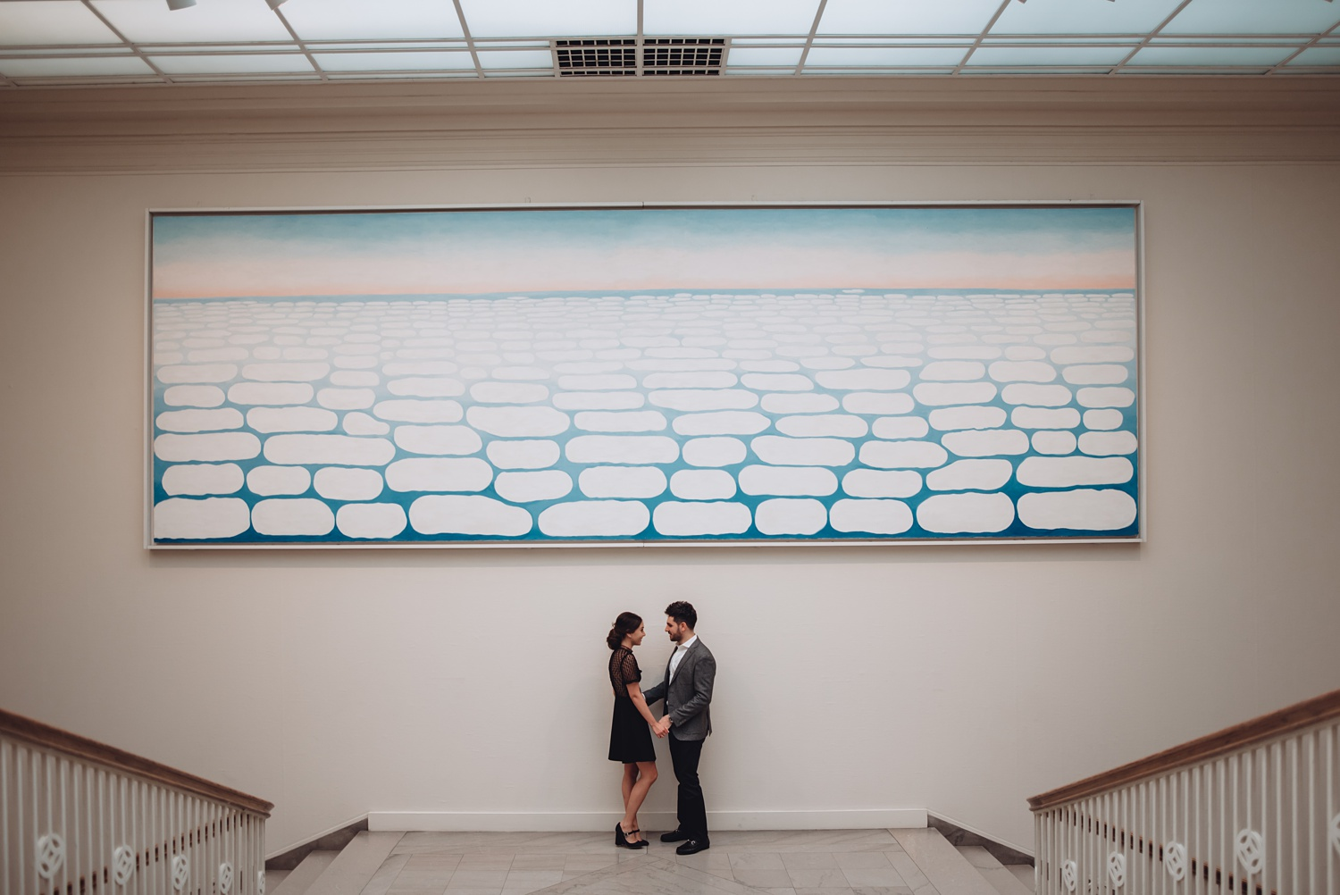 Art Institute Chicago Engagement session - The Adamkovi