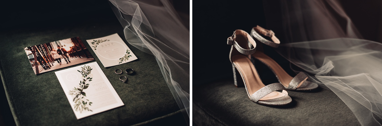 Artifact Events Fall Chicago Wedding - The Adamkovi, shoes, details