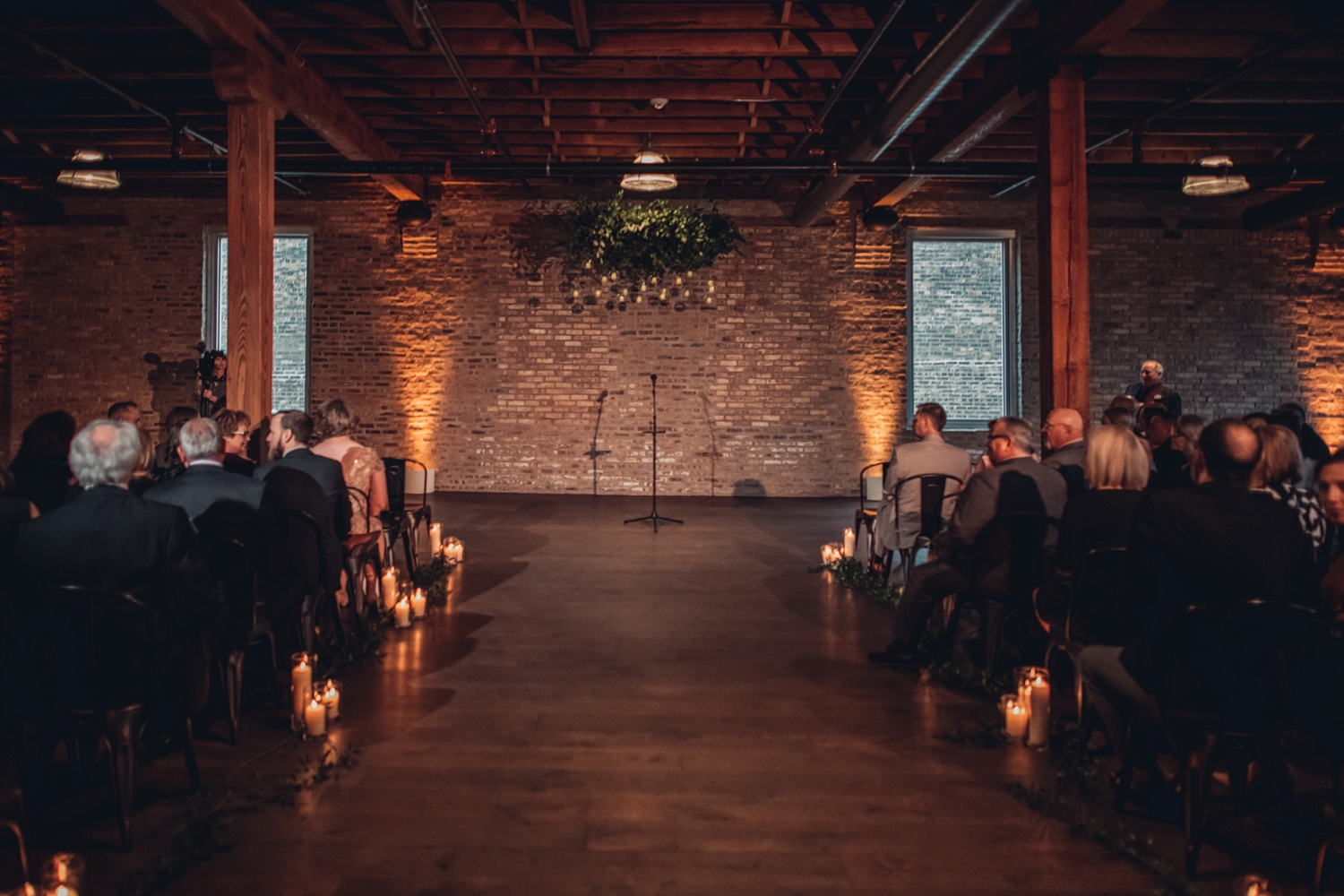 Artifact Events Fall Chicago Wedding - The Adamkovi ceremony space