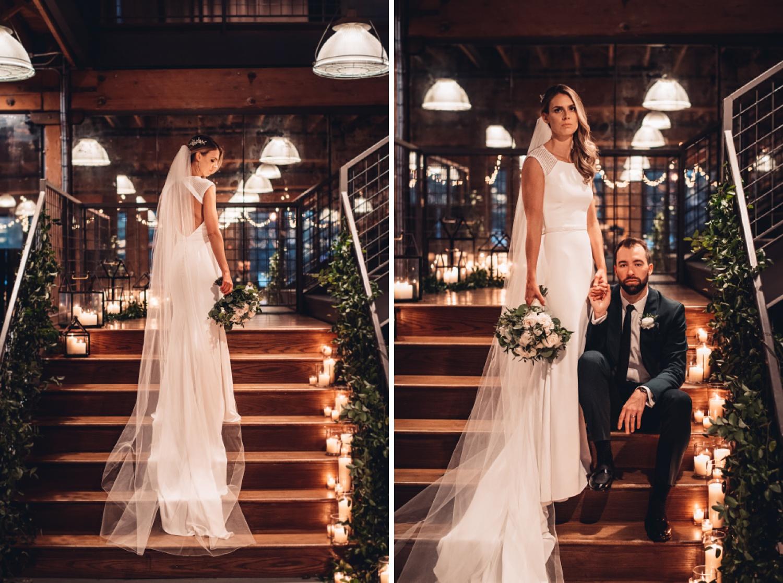 Artifact Events Chicago Wedding - The Adamkovi bride and groom portraits
