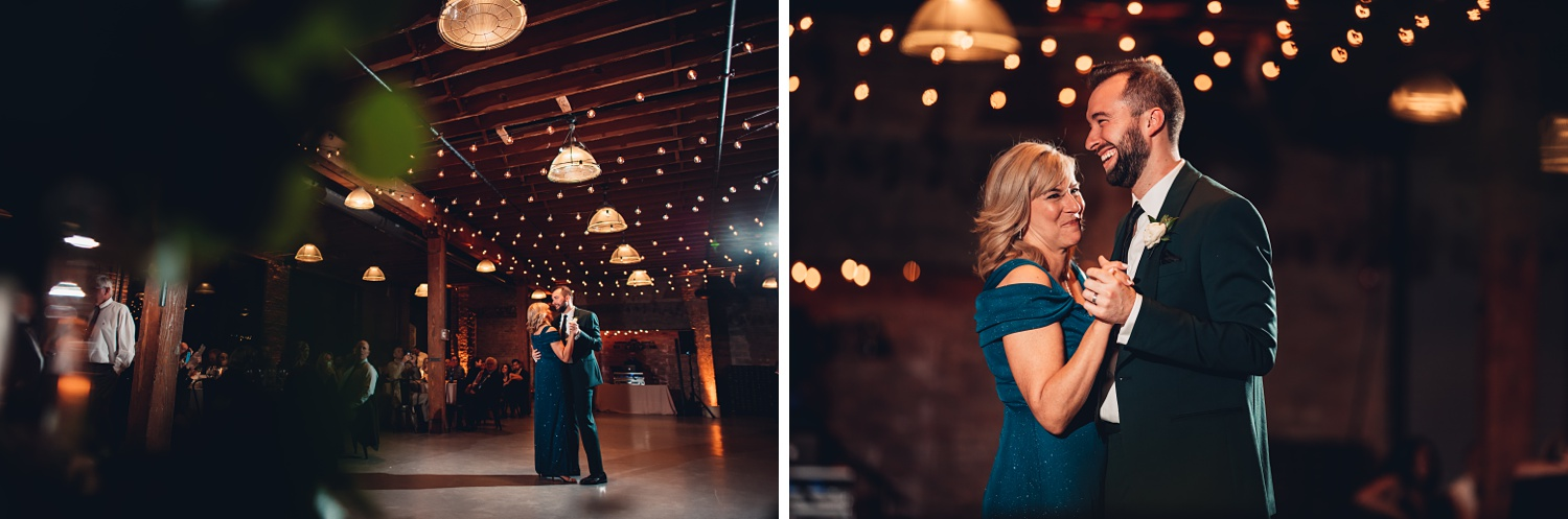 Artifact Events Chicago Wedding - The Adamkovi mom dance