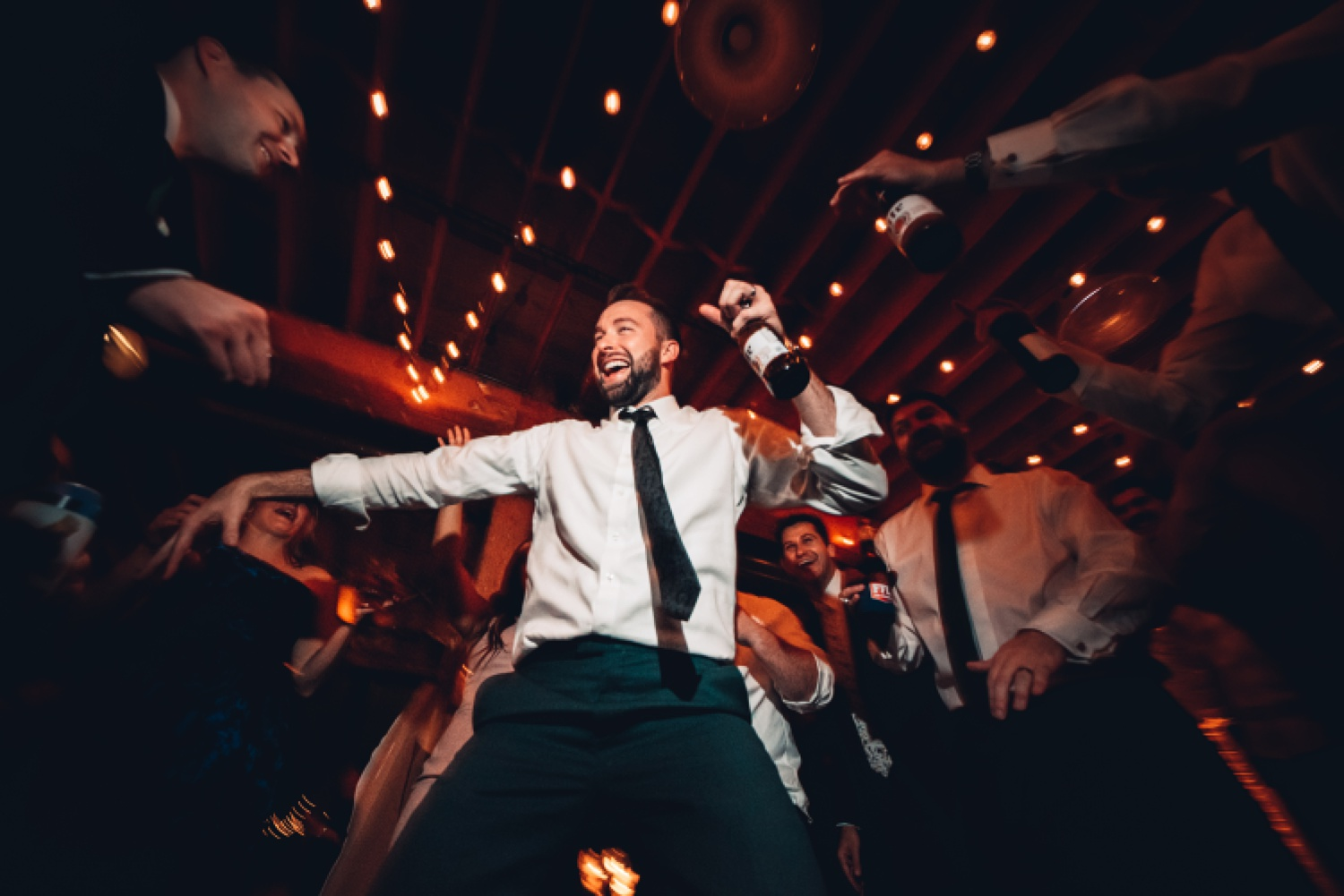 Artifact Events Chicago Wedding - The Adamkovi dance party
