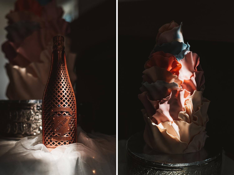 Lake Geneva Micro Wedding - The Adamkovi epic unique cake