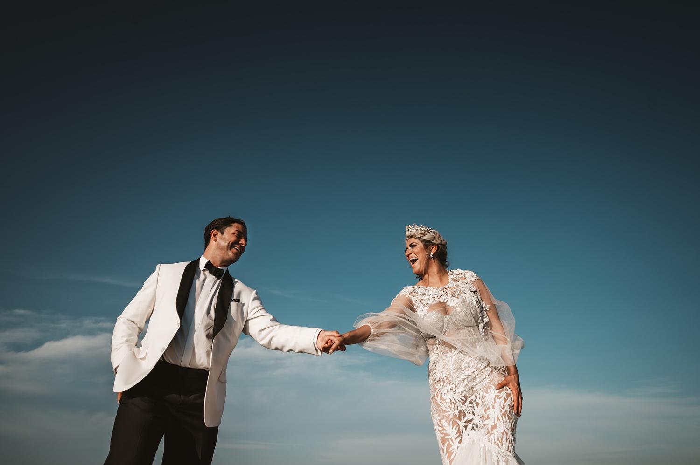 Lake Geneva Micro Wedding - The Adamkovi bride and groom photos on a boat