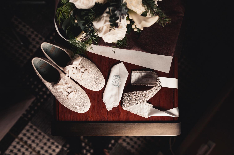 Salvatore's Chicago Wedding - The Adamkovi - bridal details