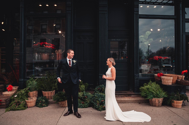 Salvatore's Chicago Wedding - The Adamkovi - First look