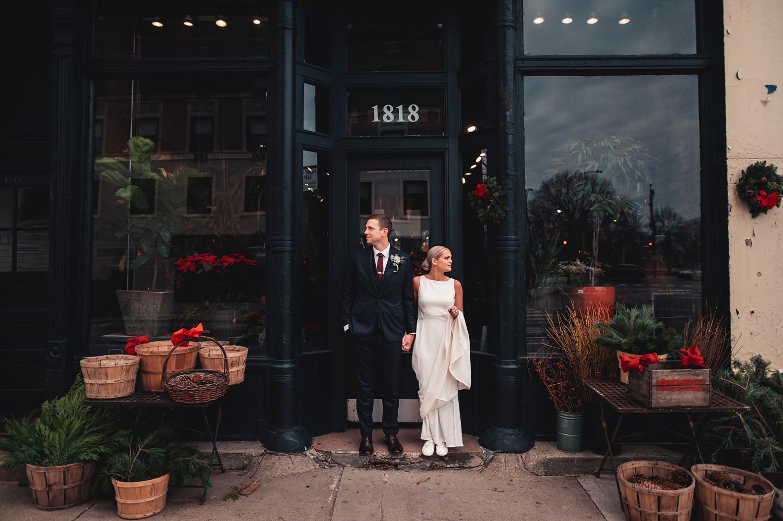 Salvatore's Chicago Wedding - The Adamkovi - portrait of bride and groom