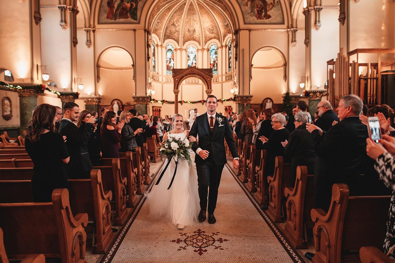 Salvatore's Chicago Wedding - St. Josaphat Catholic Church, ceremony