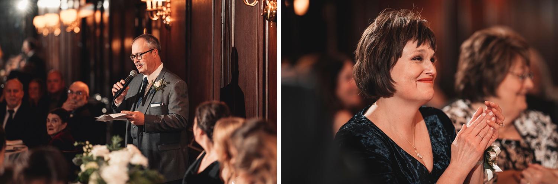 Salvatore's Chicago Wedding - Salvatore's Chicago, reception, speeches