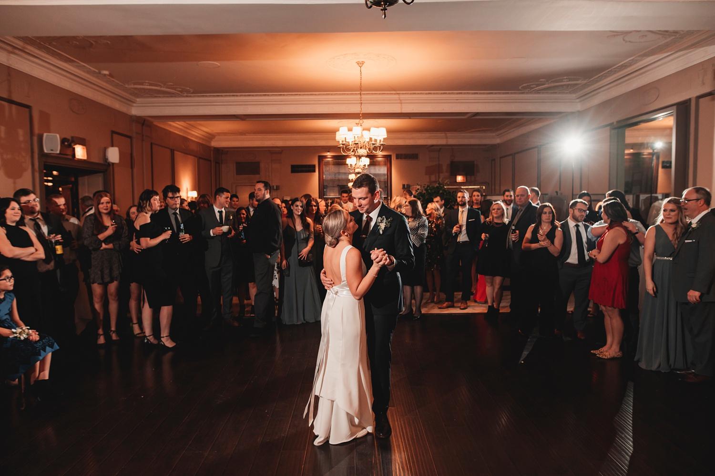 Salvatore's Chicago Wedding - Salvatore's Chicago, reception, first dance