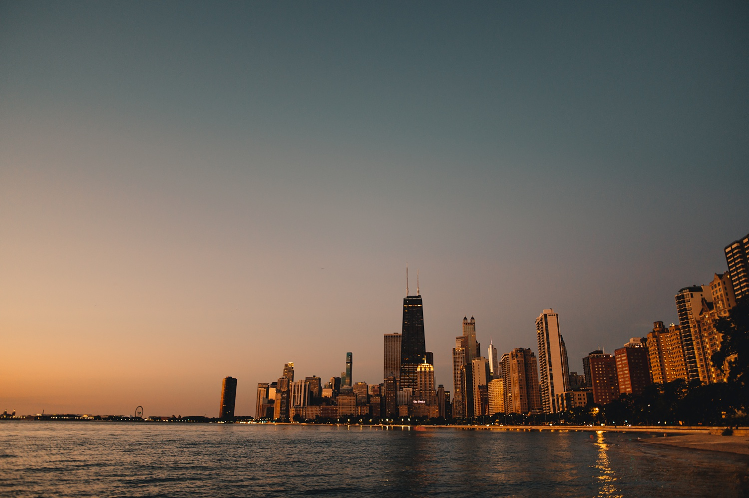Sunrise Chicago Wedding - The Adamkovi,