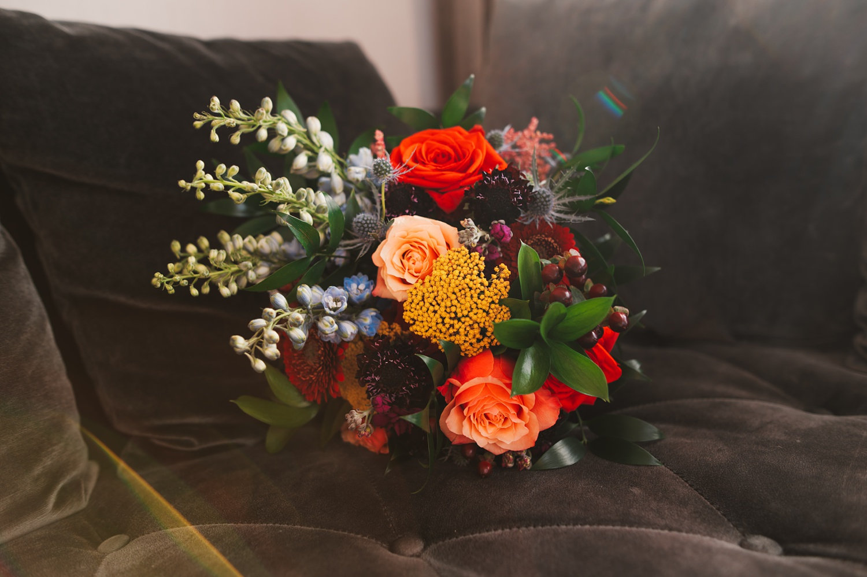 the journeyman Milwaukee Wedding, wedding flowers