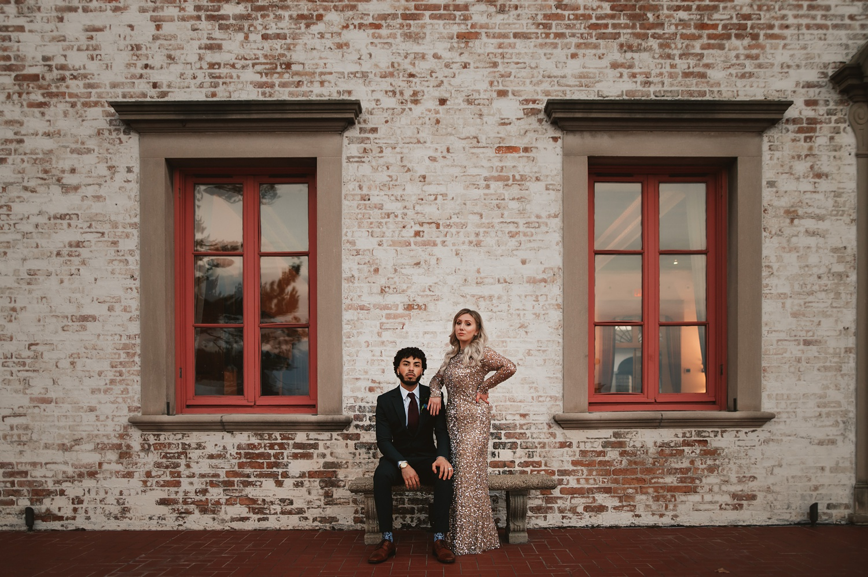 Villa Terrace Milwaukee Wedding Photography - Bride and groom session