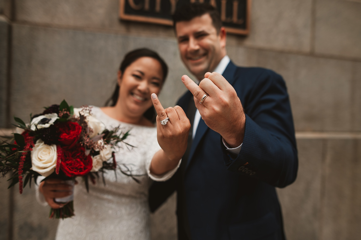 Chicago Courthouse Elopement wedding - The Adamkovi, city hall