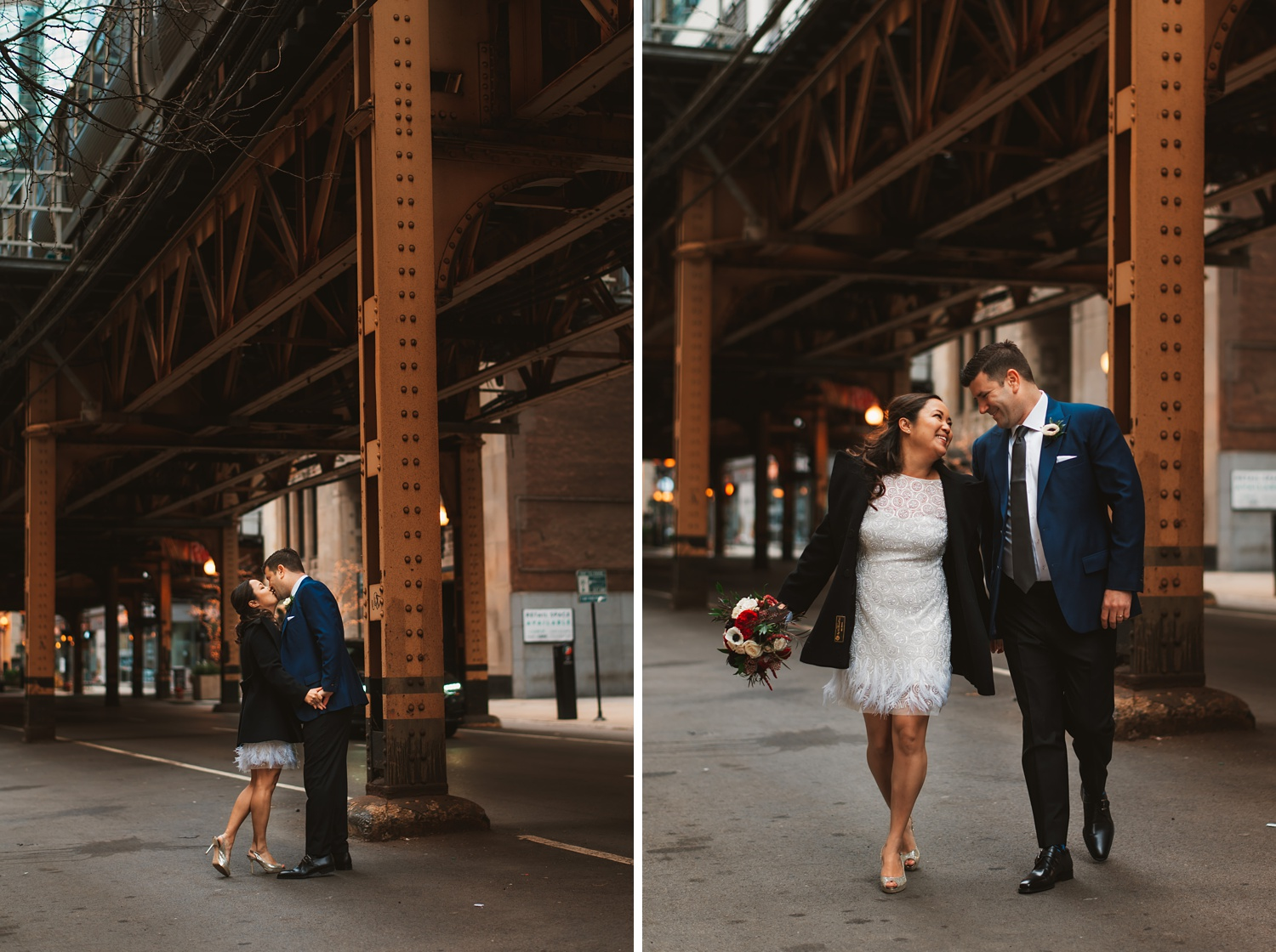Chicago Courthouse Elopement wedding - The Adamkovi, city hall, photos in the loop area