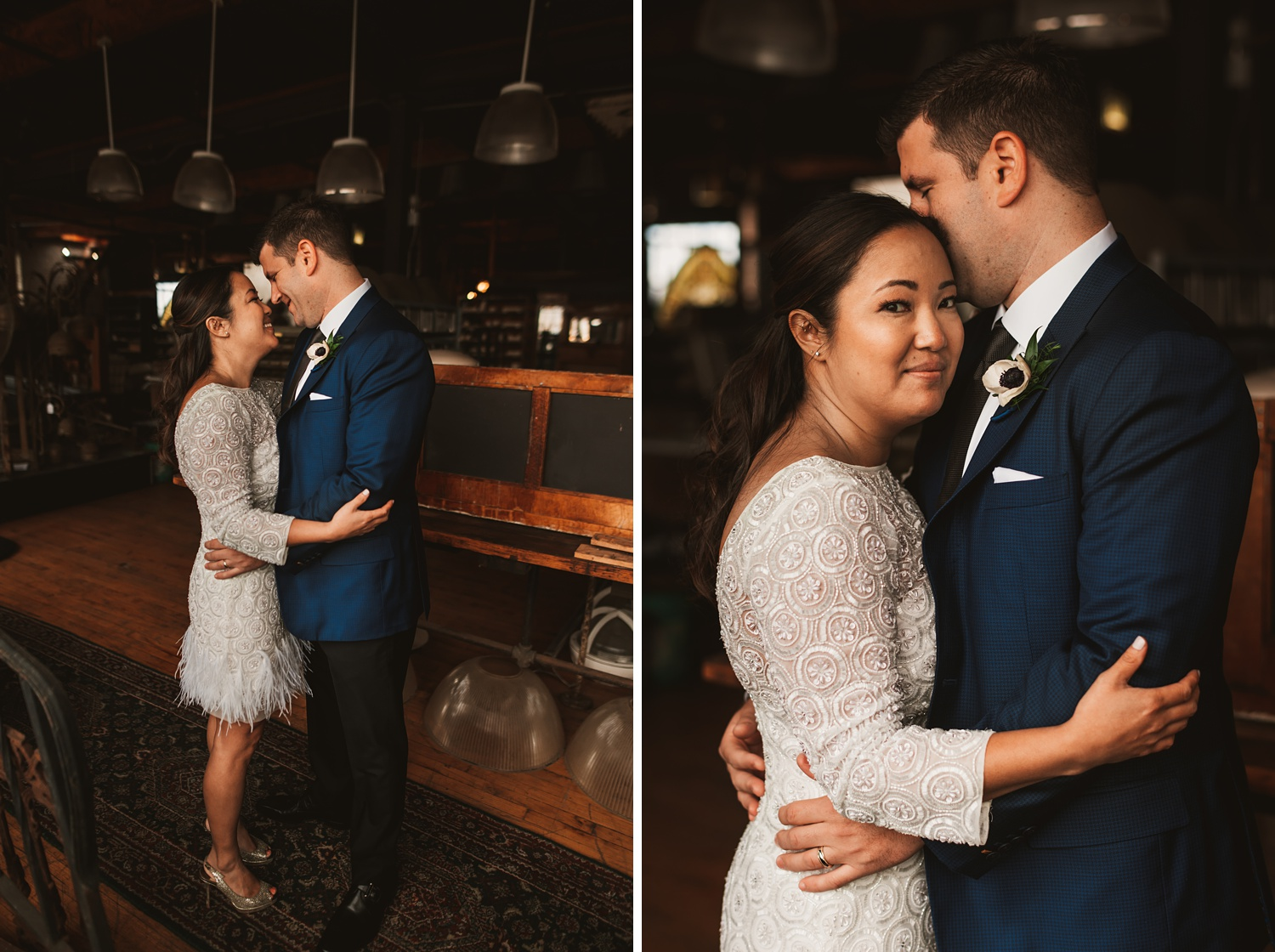 Salvage One Elopement wedding photos - The Adamkovi