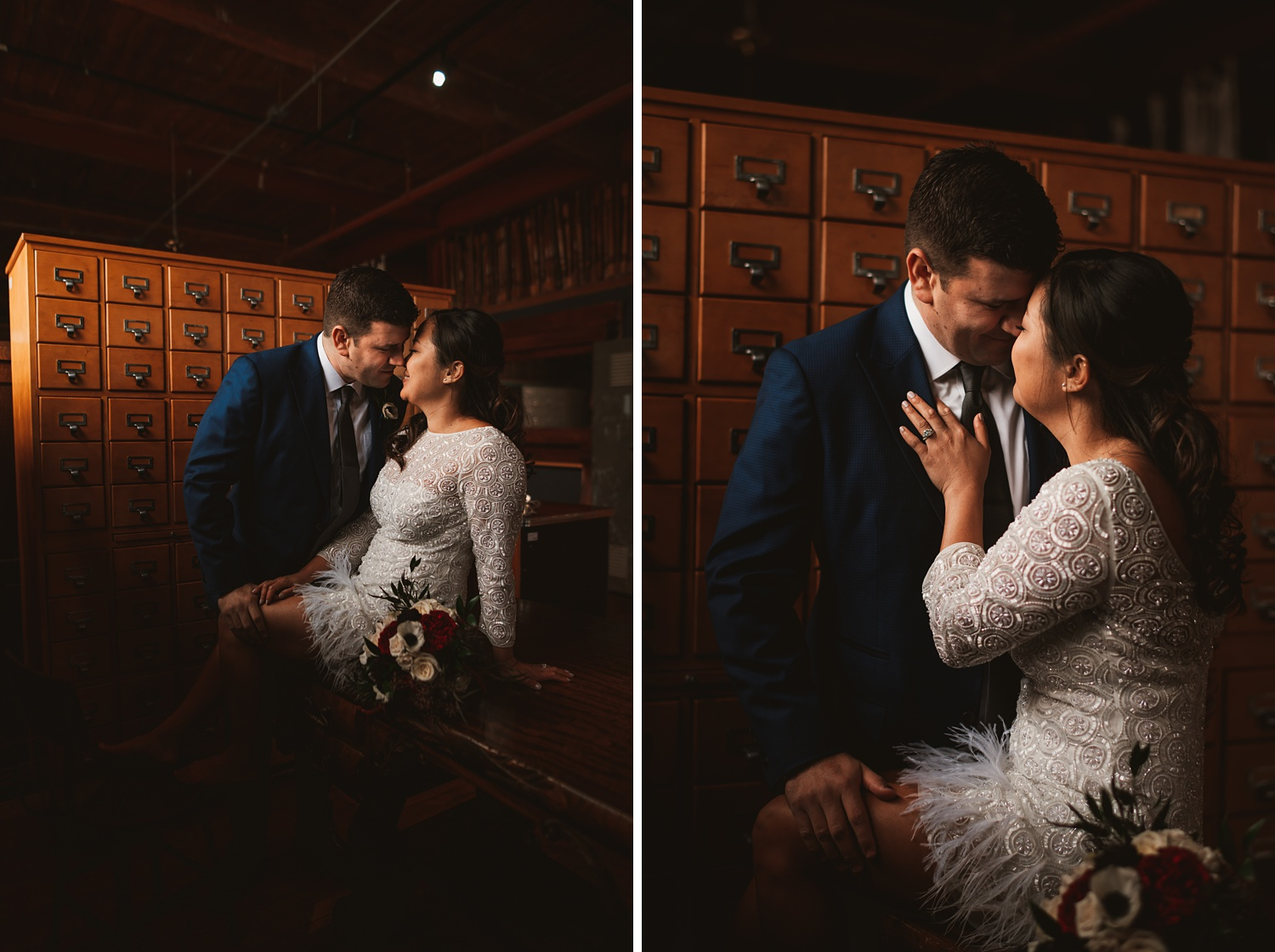 Salvage One Elopement wedding photos - The Adamkovi creative wedding photos